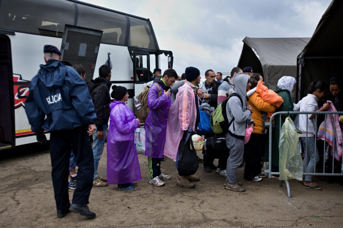 Převážení uprchlíků