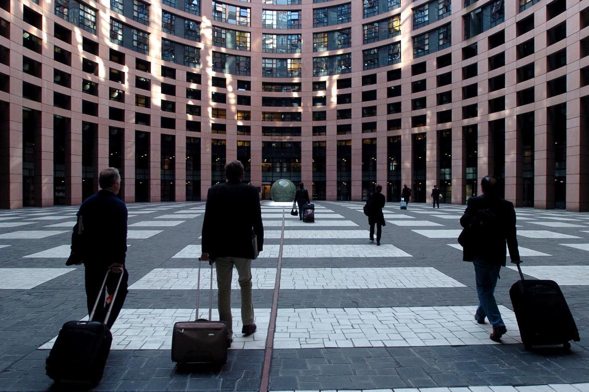 Sídlo europarlamentu ve Štrasburku