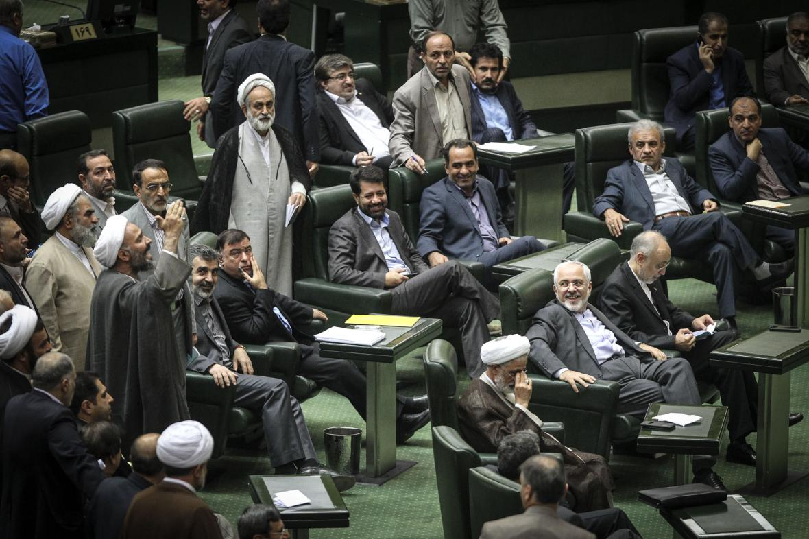 Íránský parlament