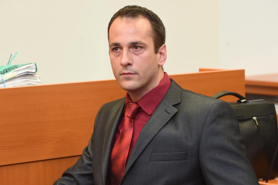 Obžalovaný dozorce Oldřich Novák