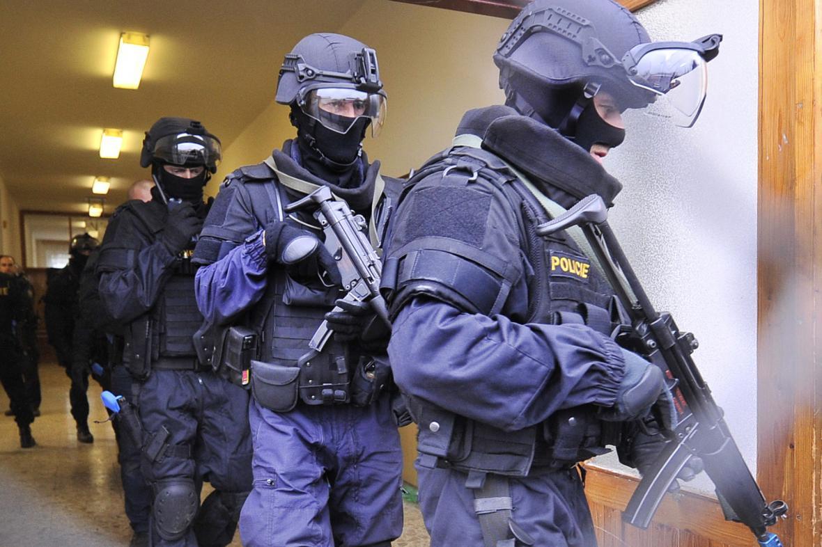 Policejní cvičení Amok