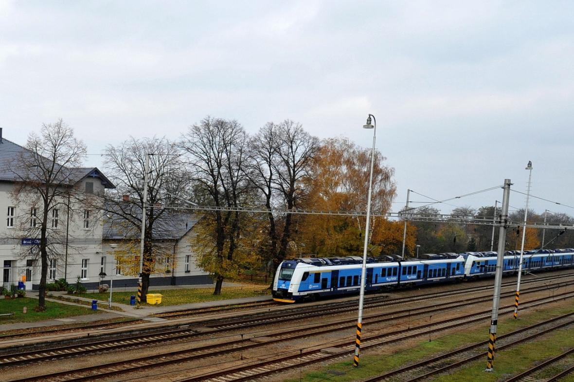 Vlakové nádraží v Brně-Chrlicích