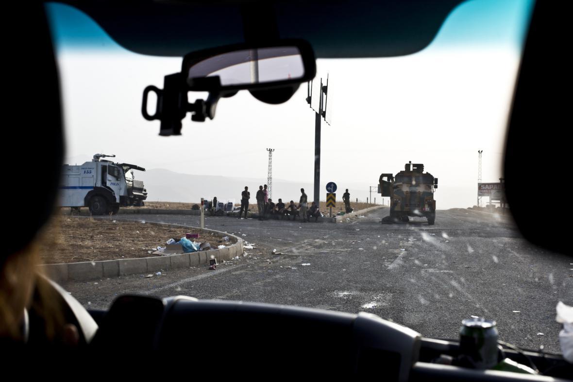 Boje v tureckém Kurdistánu