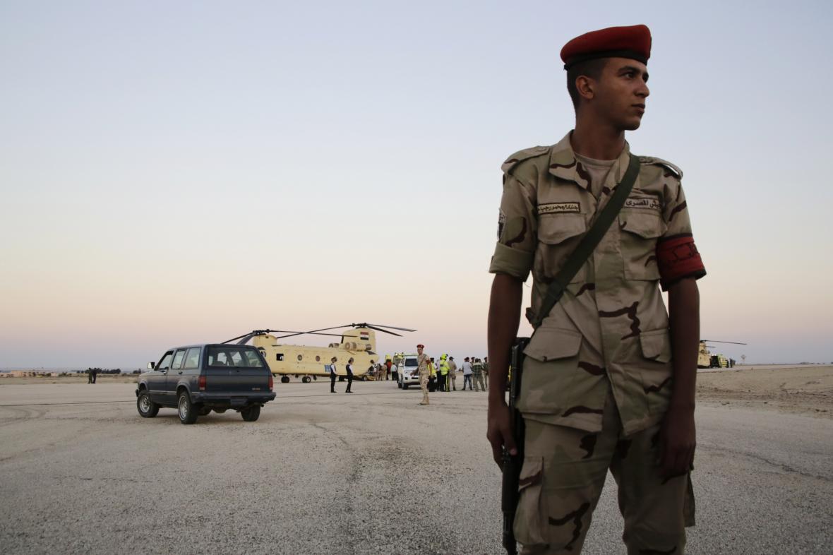 Egyptské bezpečnostní složky