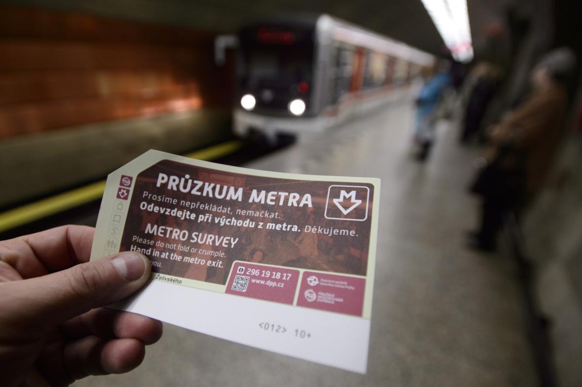 Průzkum metra