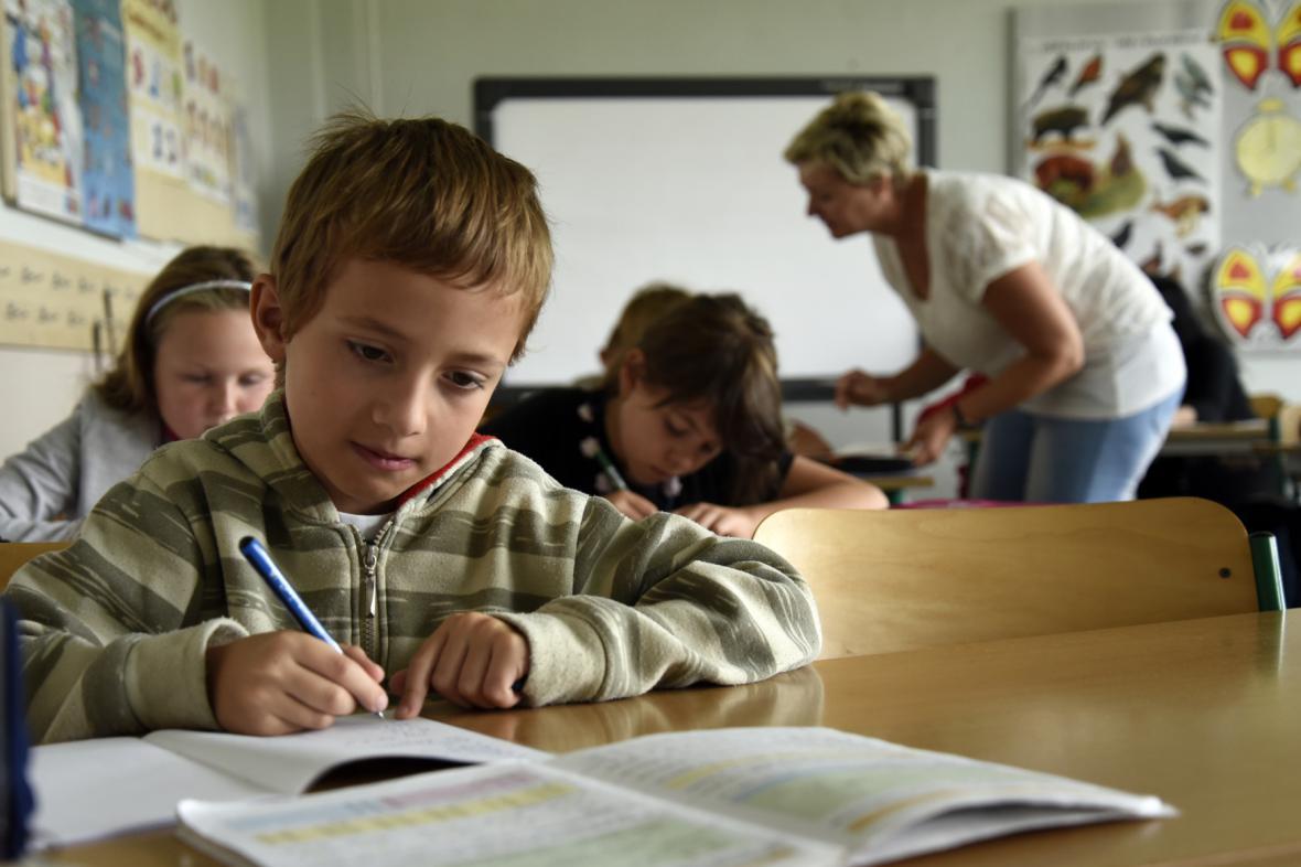 Výuka v základní škole