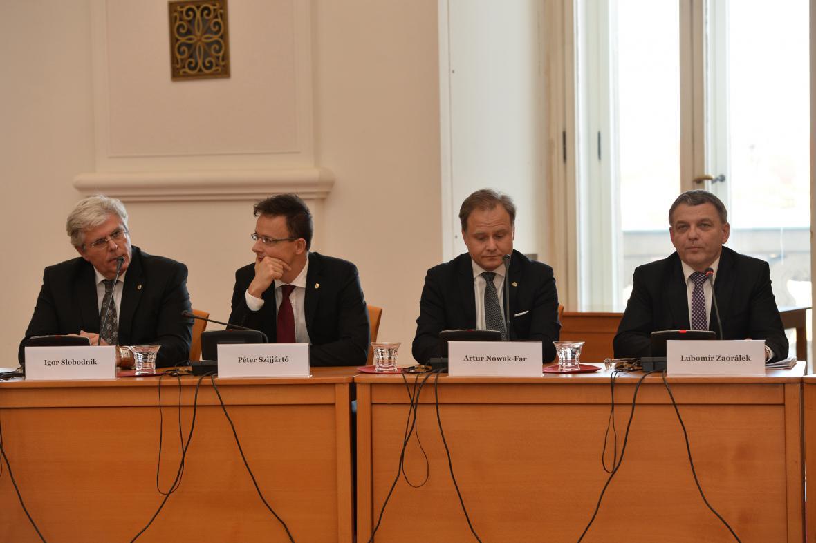 Setkání ministrů zahraničí V4 a západního Balkánu
