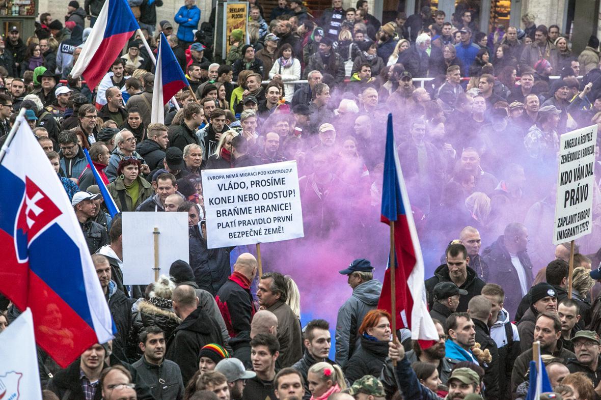 Václavské náměstí - 17. 11. 2015