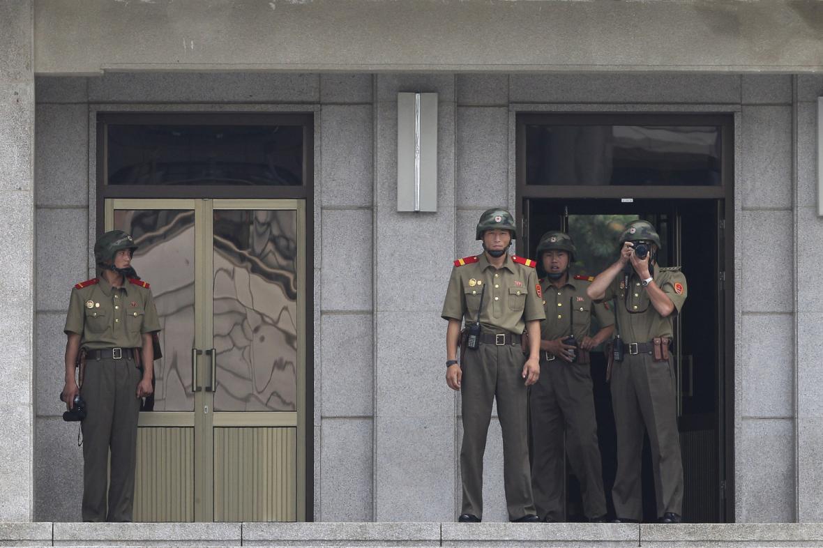 Ostraha severokorejské hranice