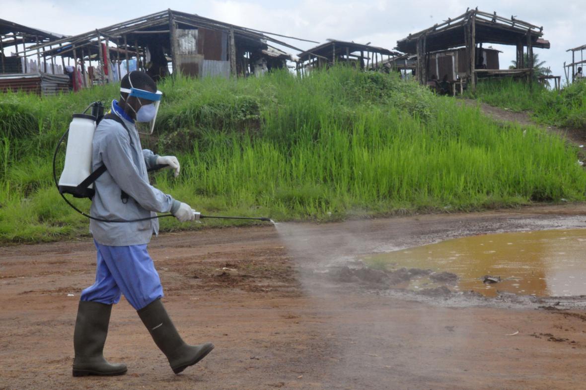 Opatření proti šíření eboly - Libérie