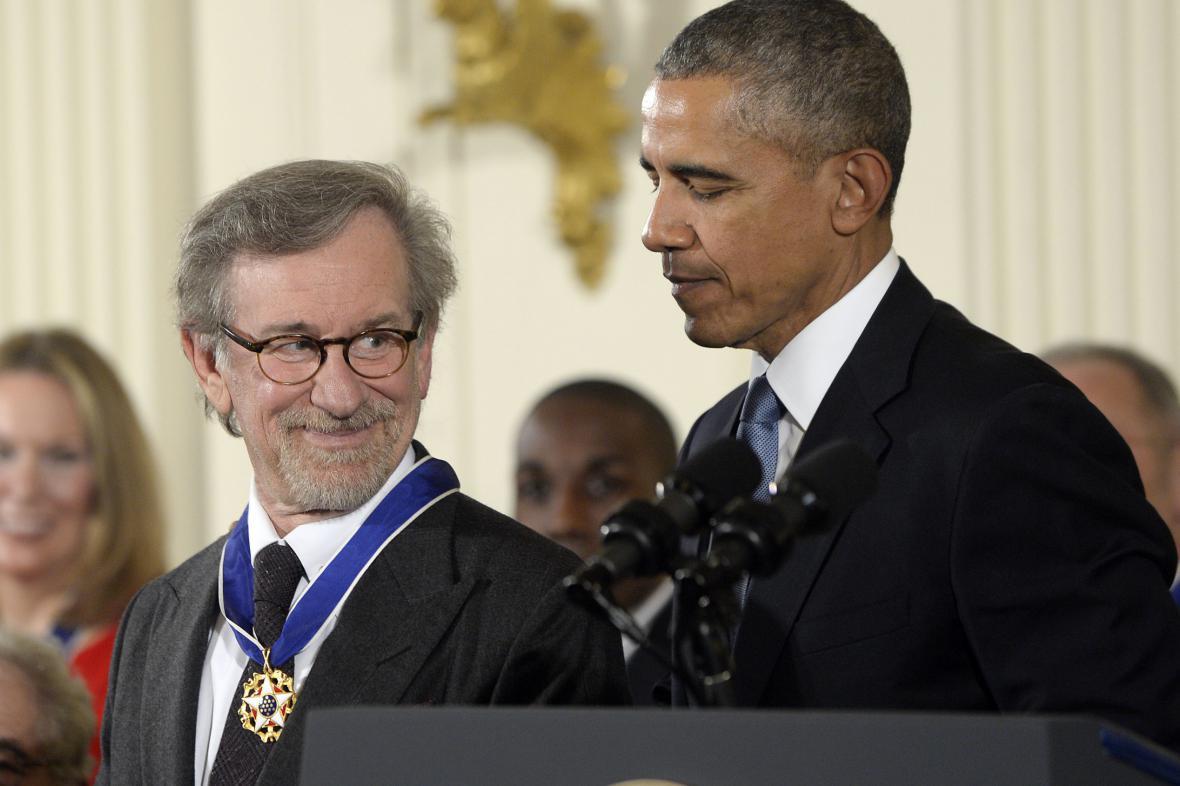 Bílý dům udílel Medaile svobody