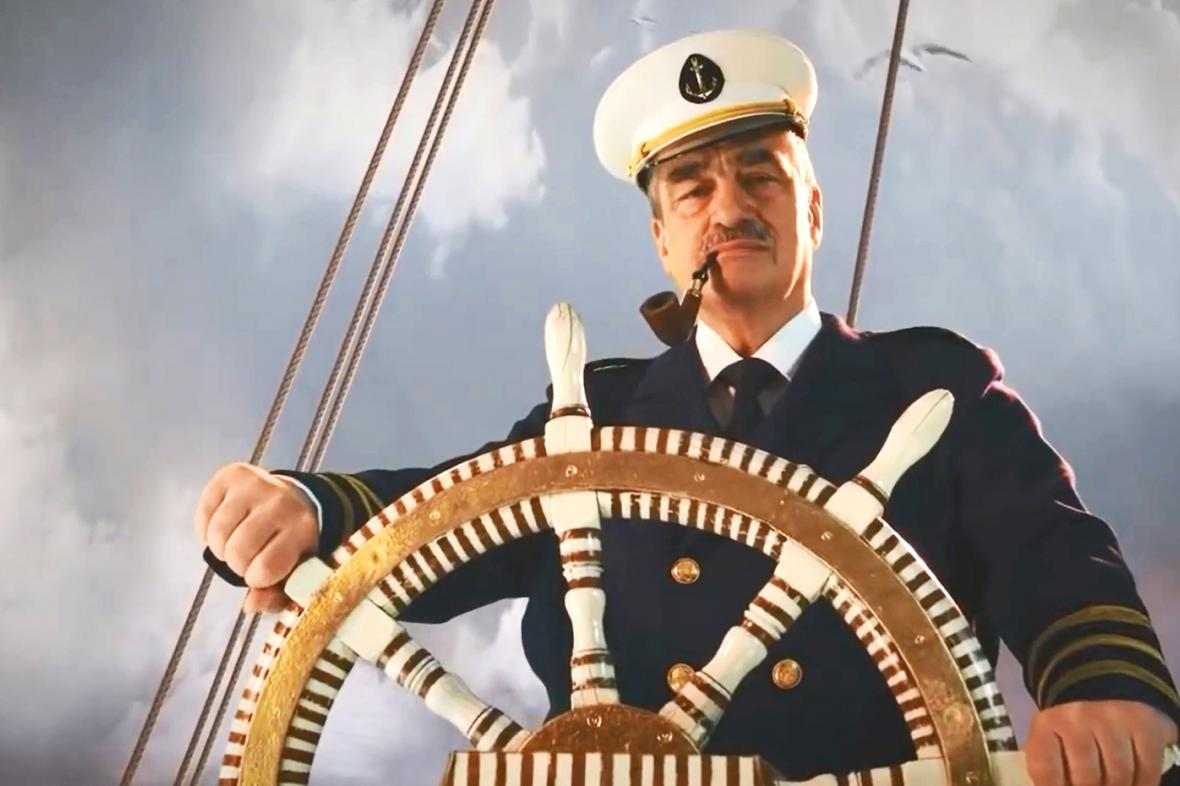 Karel Schwarzenberg v předvolební kampani v roce 2010