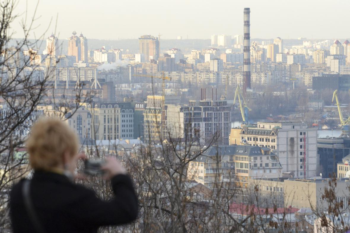 Výhled na Kyjev