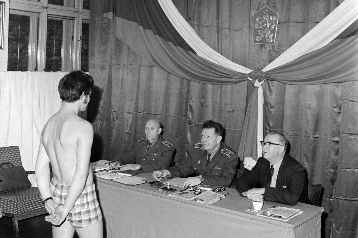 Odvodní komise v říjnu 1970 v Plzni