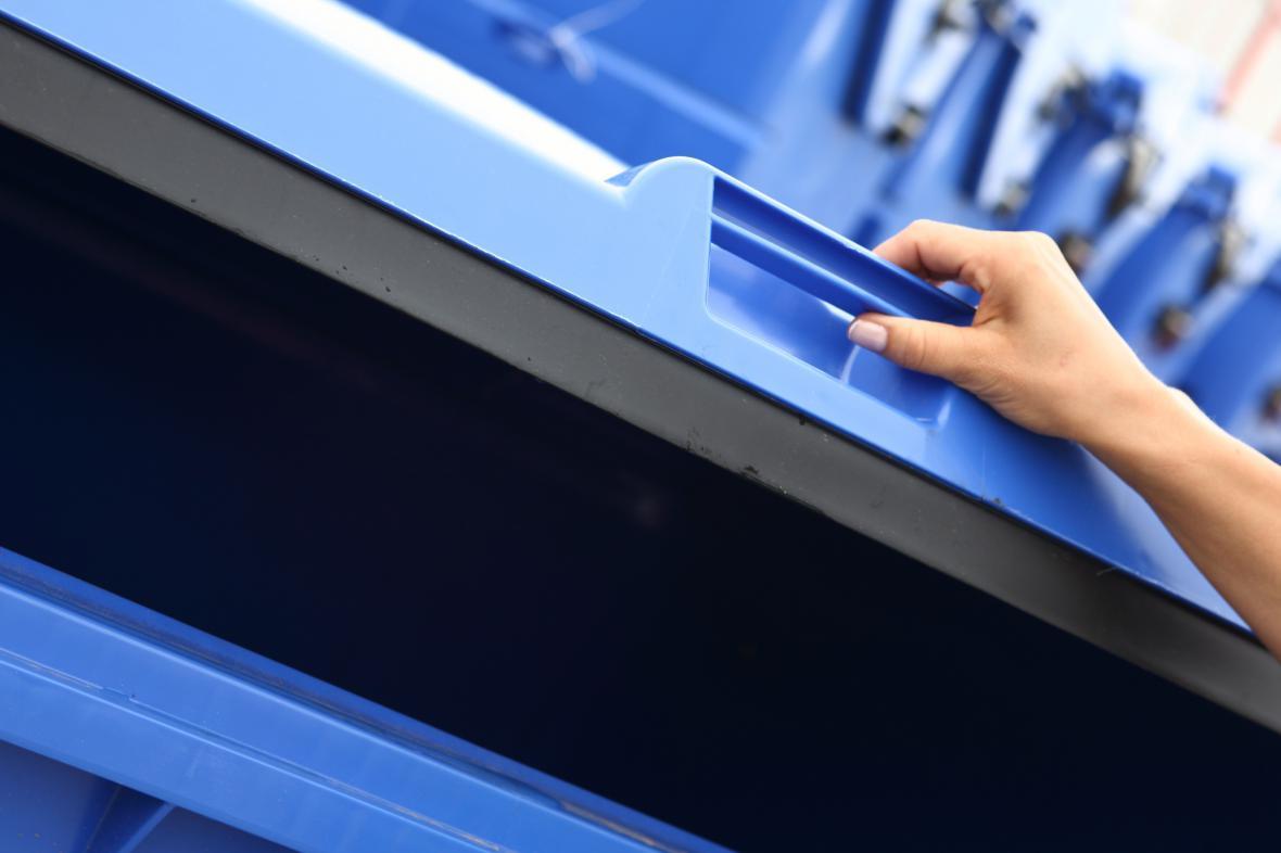 Město rozdá 1 400 kontejnerů na tříděný odpad