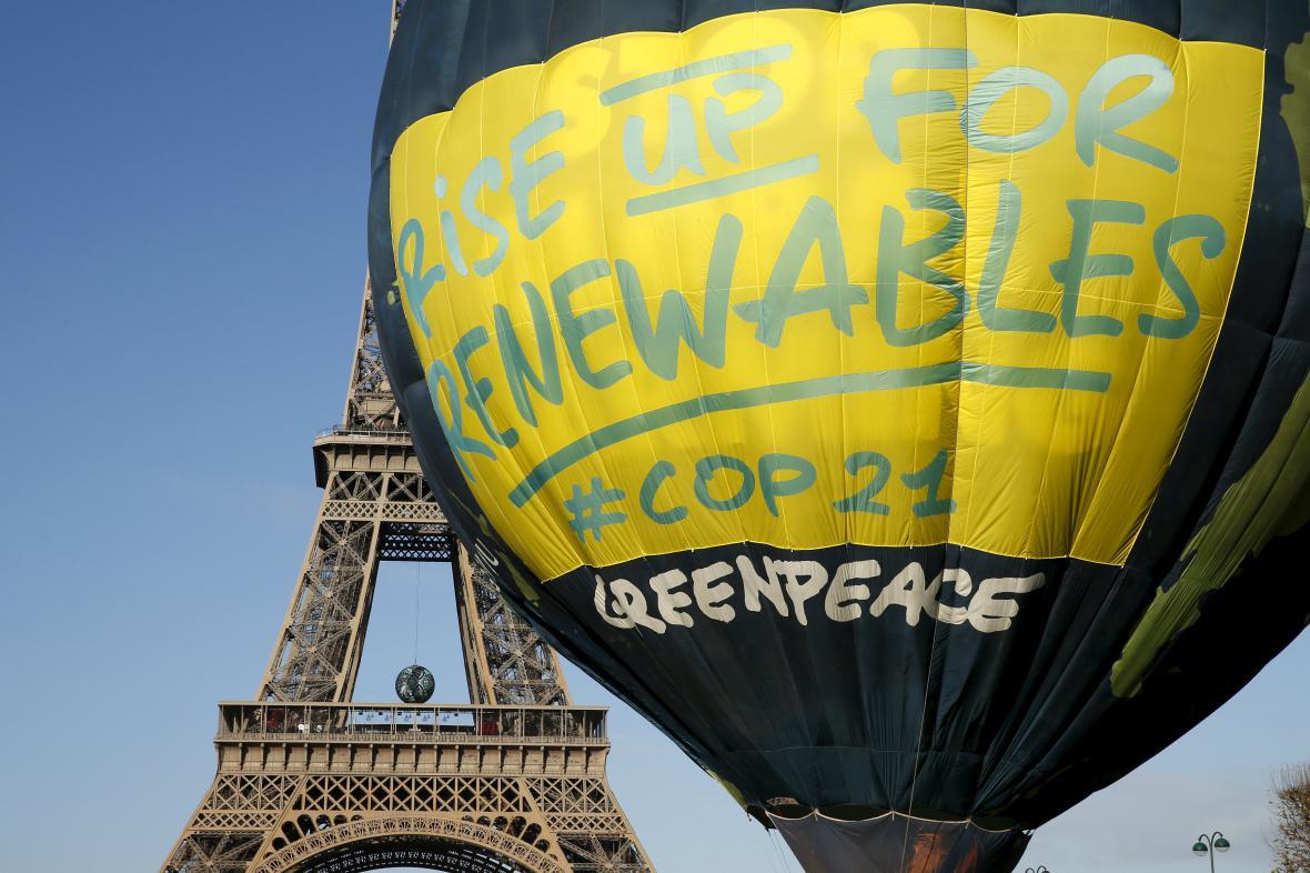 Kampaň Greenpeace požadující nárůst významu a používání obnovitelných zdrojů