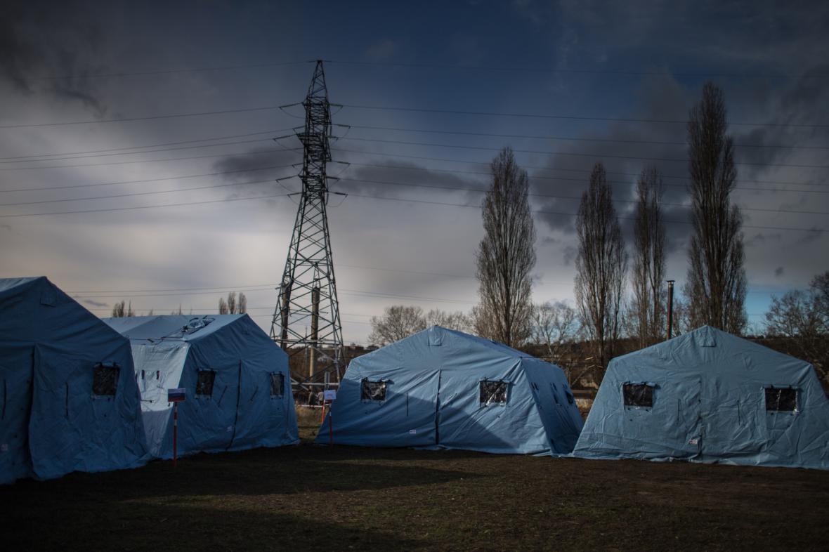 Elektrické vedení na Krym