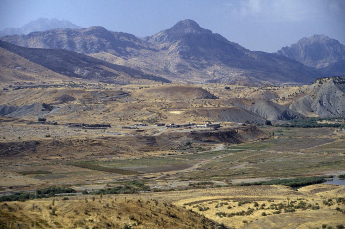 Irácká poušť
