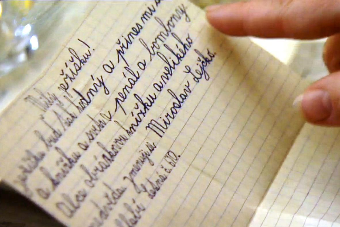 Dopisy dětí Ježíškovi, které dostával Josef Adler