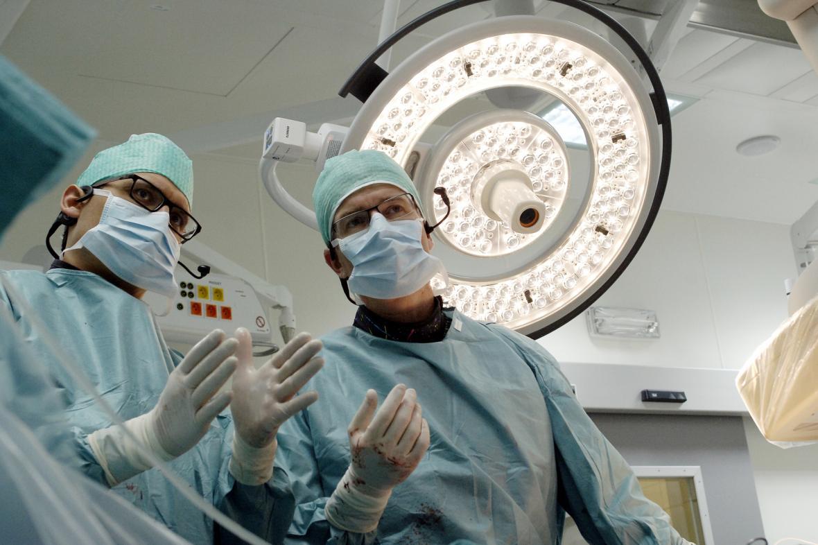 Operace srdce v třinecké nemocnici Podlesí