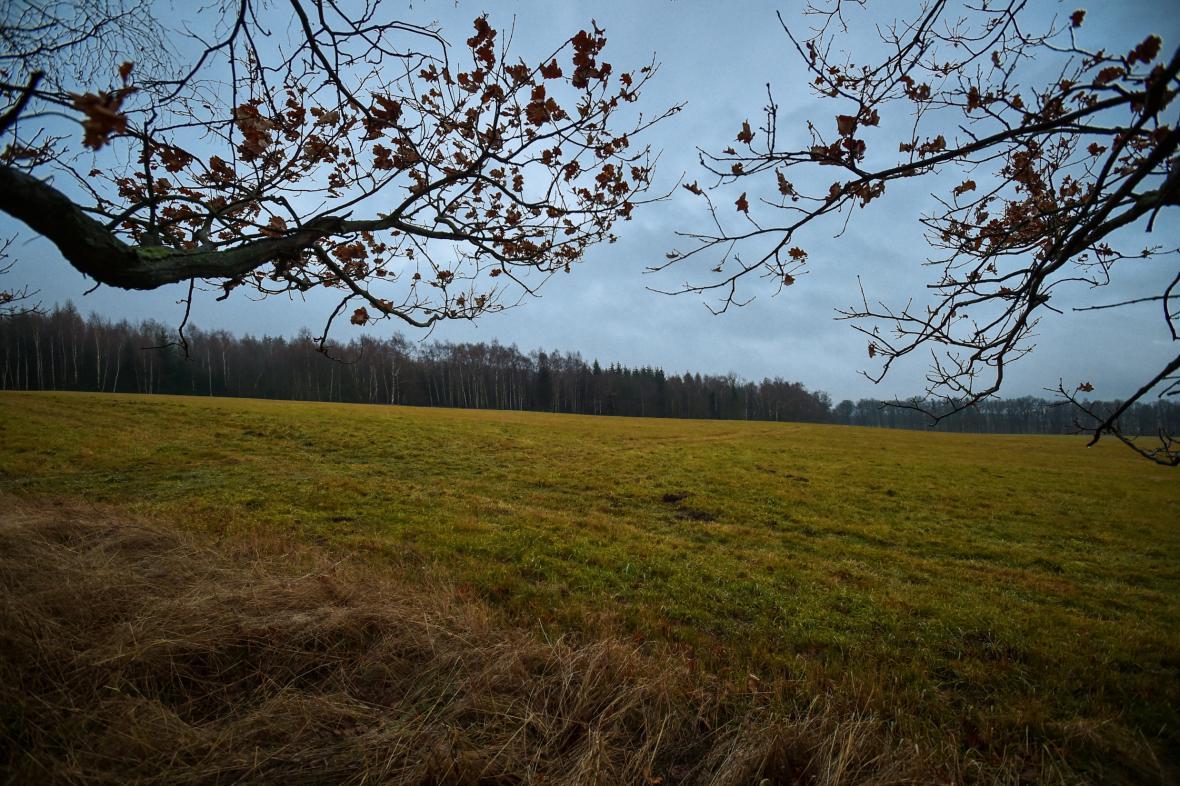 Pozemky u Chrastavy na Liberecku, které ministerstvo vnitra zařadilo mezi ty, které by měla Česká republika vrátit Polsku