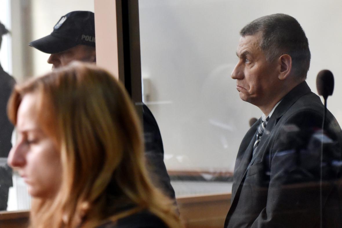 Brunon Kwieceń u krakovského soudu