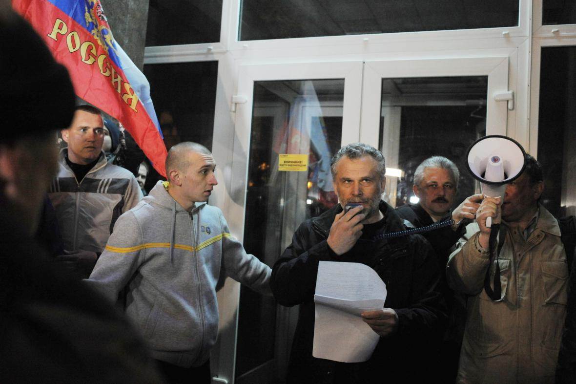 Alexej Čalyj na archivním snímku z února 2014, kdy došlo k ruské anexi Krymu