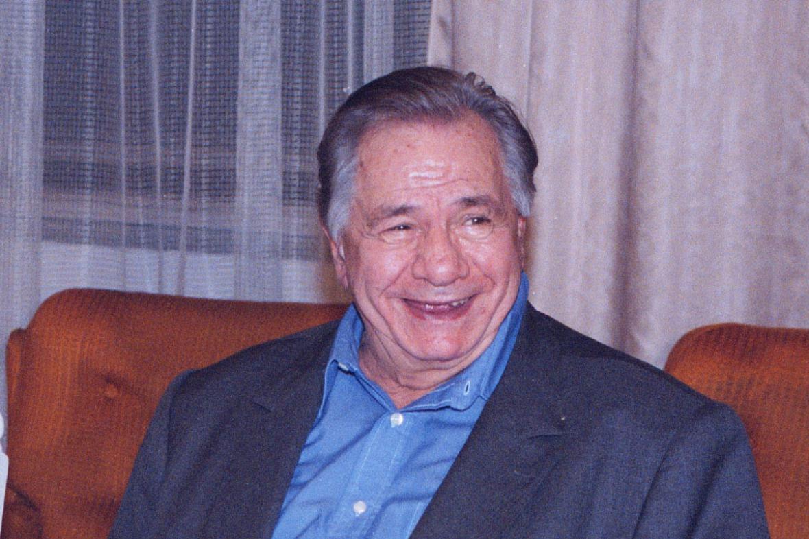 Michel Galabru na festivalu ve Zlíně (2003)
