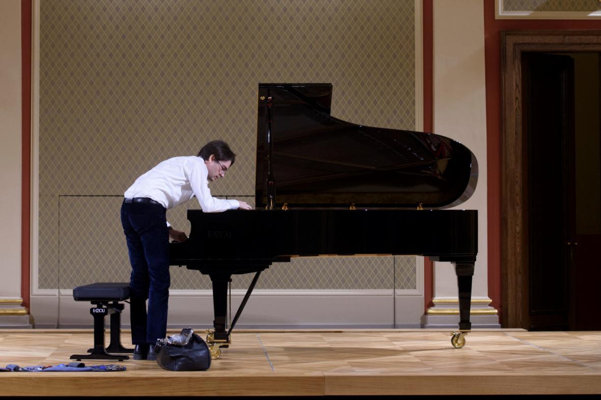 Nové koncertní křídlo Fazioli v opravené Sukově síni Rudolfina