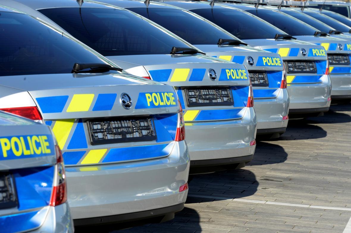 Nové vozy Policie ČR
