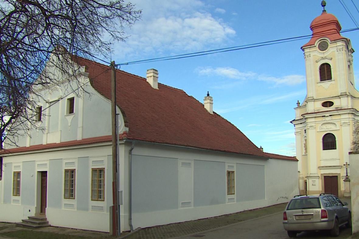 Ubytování na faře v Horních Věstonicích je zájem
