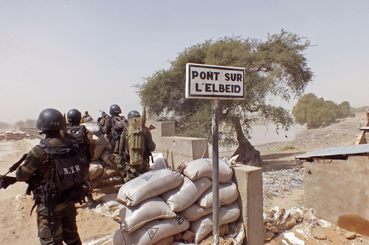 Kamerunští vojáci