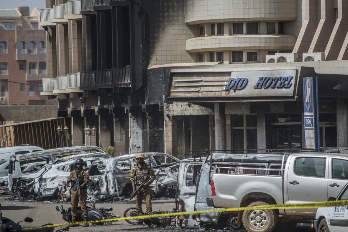 Hotel Splendid se stal terčem teroristů