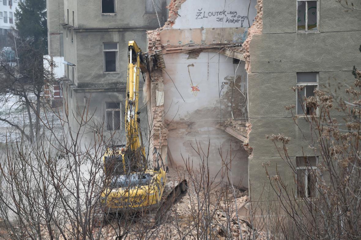 Demolice prostějovských kasáren