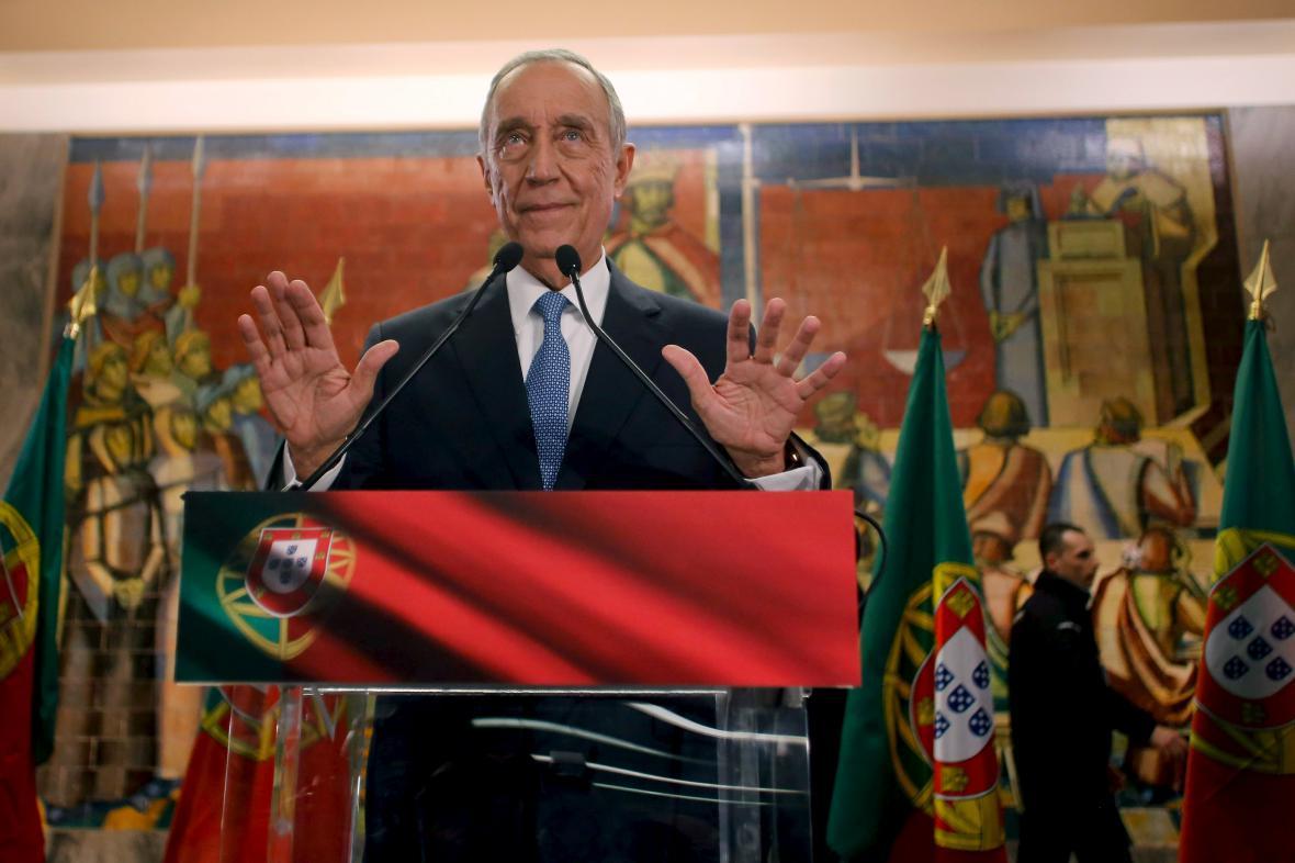 Rebelo de Sousa se stal novým prezidentem Portugalska