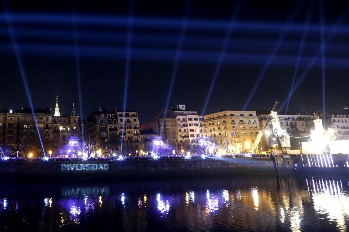 Slavnostní otevření San Sebastiánu
