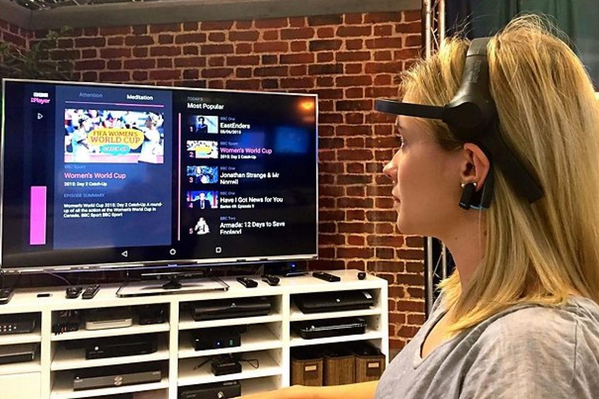 Testování prototypu Mind Control TV