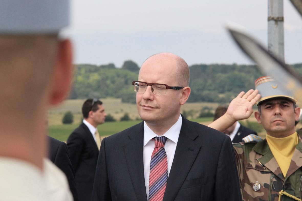 Bohuslav Sobotka vzpomněl výročí vzniku ČS ozbrojených sil