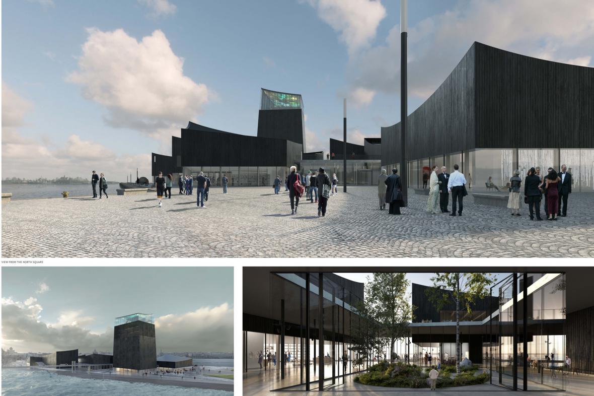 Vítězný návrh na Guggenheimovo muzeum v Helsinkách