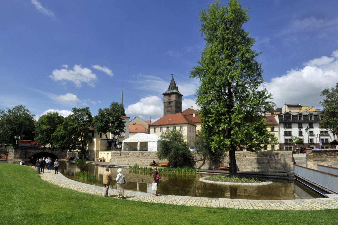 Mlýnská strouha v Plzni