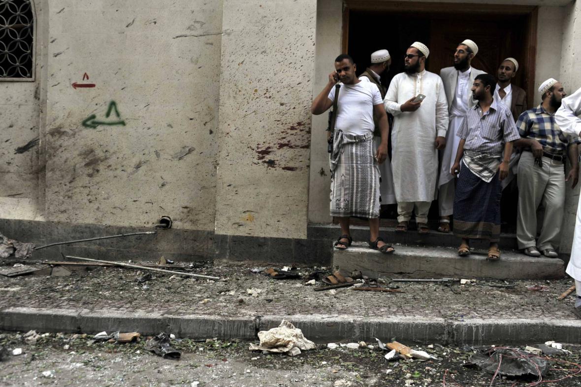 Město Saná čelí dlouhodobému konfliktu