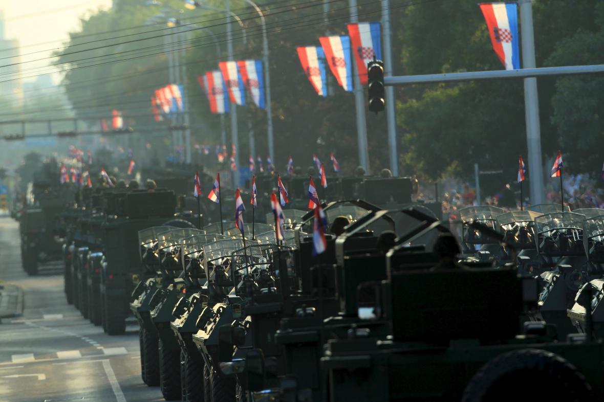 Den vítězství. V Chorvatsku si připomínají operaci Bouře