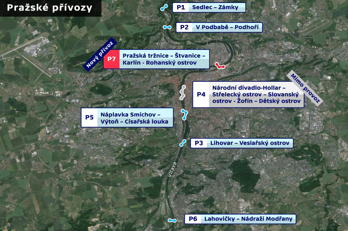 Pražské přívozy