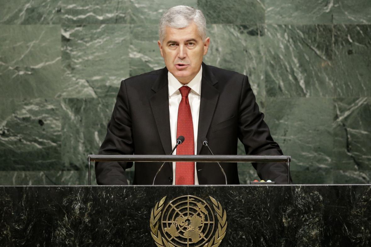 Šéf předsednictva Bosny Dragan Čović