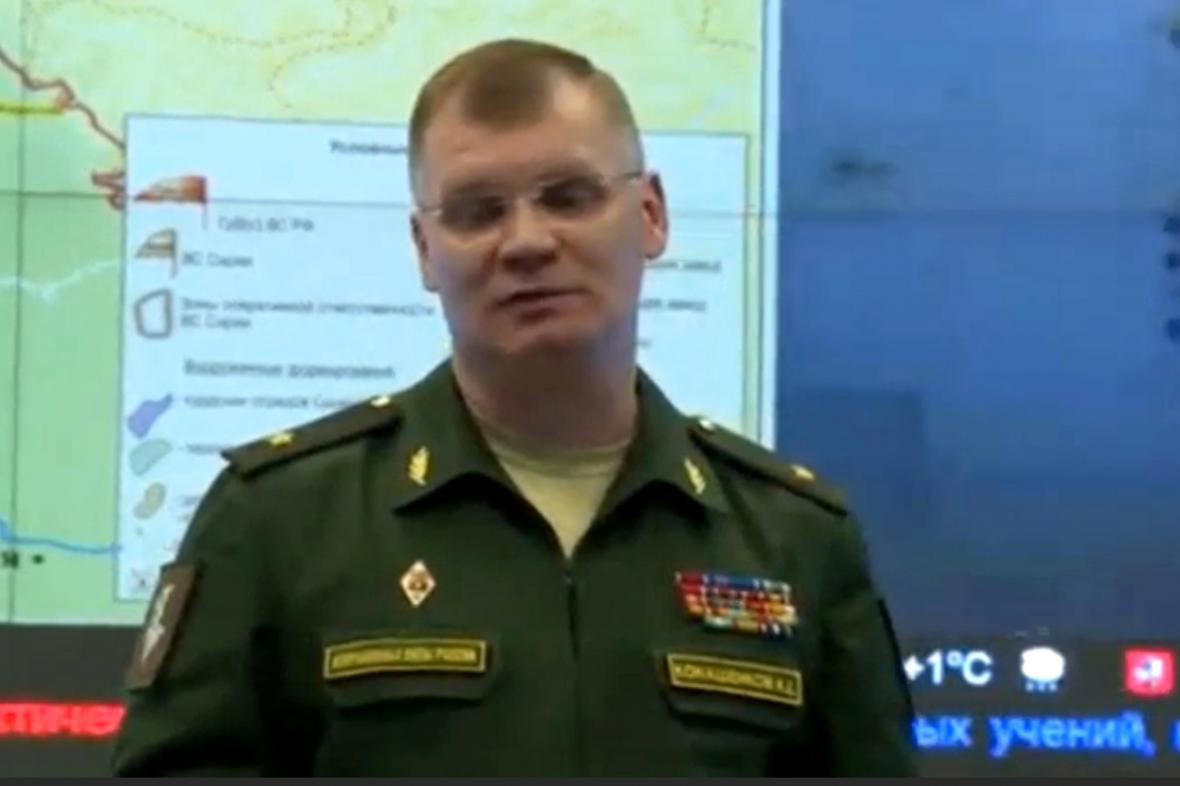 Turecko zřejmě chystá invazi do Sýrie, říká generál Igor Konašenkov