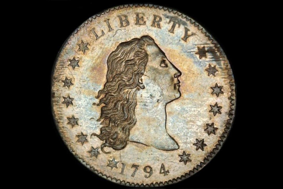 Flowing Hair Liberty Dollar