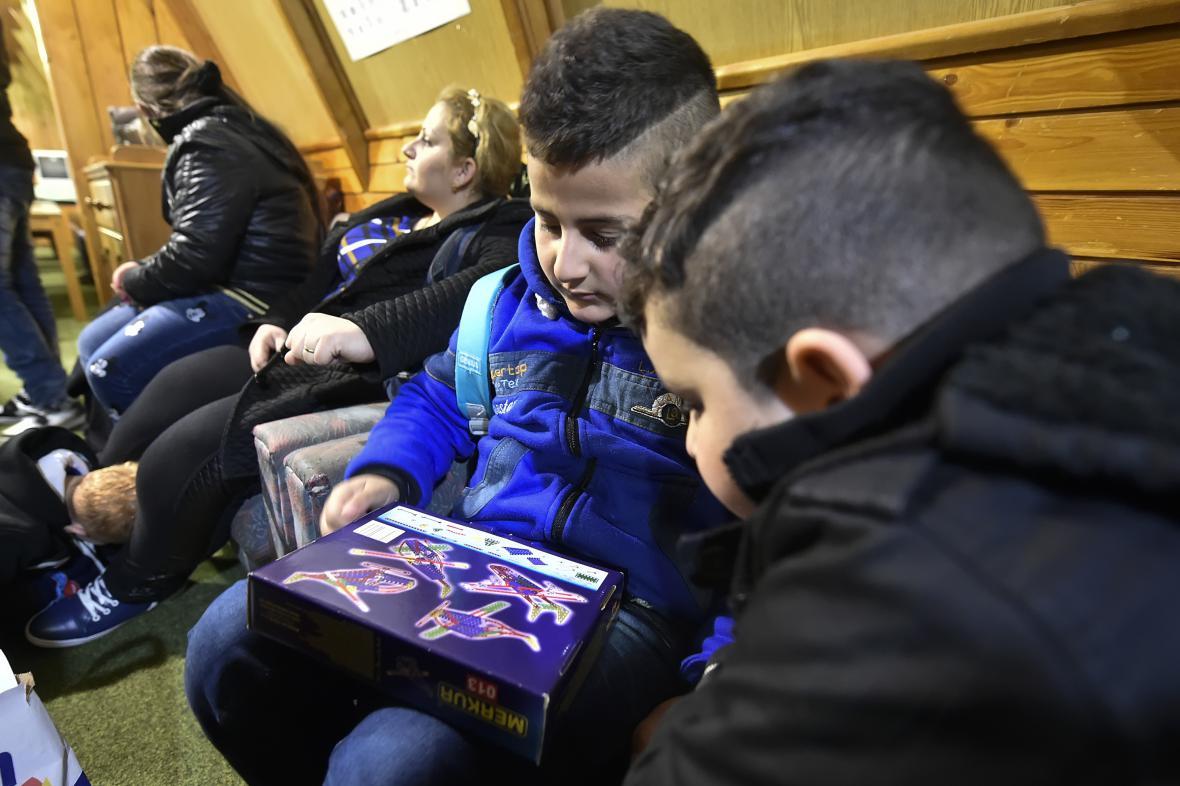 Křesťanští uprchlíci už před několika dny dorazili také na Vysočinu