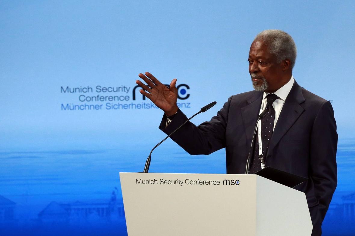 Kofi Annan v Mnichově