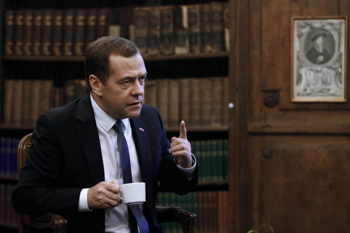 Dmitrij Medveděv poskytl rozhovor časopisu Time