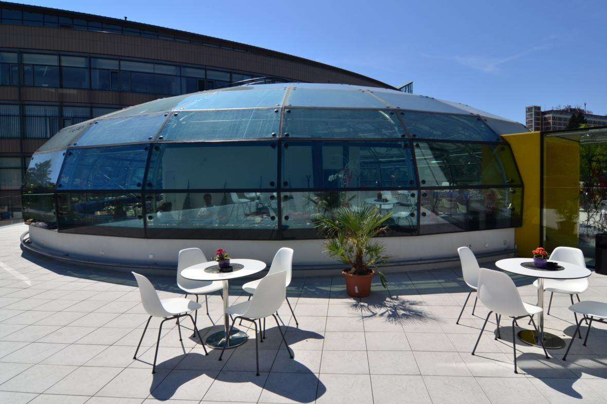 Luxusní restaurace v centru Zlína zeje prázdnotou